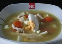 Sopa de Pollo  y Huevo