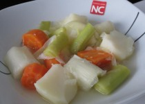 Puerros con Patata y Zanahoria