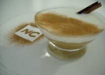 Compota de Manzana con Yogur y Canela