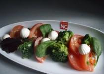Ensalada Templada de Brocoli y Tomate