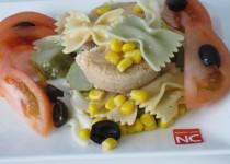 Ensalada de Pasta con Tomate y Atún