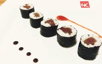 receta sushi de atún