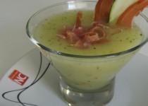 Sopa de Melón , Jamón y Albahaca